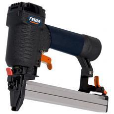 Aggraffatrice Pneumatica - Pressione Esercizio 4-7 Bar - Altezza Punti 12-25 Mm - Capacità Caricatore 100 Punti Completa Di Accessori