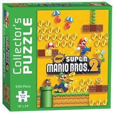 Puzzle New Super Mario Bros. 2 550 pz 46 X 61cm PZL0086