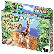 Giraffa Puzzle 3d Con Movimento Carica A Molla Cm 14x3x7 H Per Bambini 6+