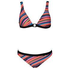 Costume Donna Stripes Ring Bra Nero Fantasia 42