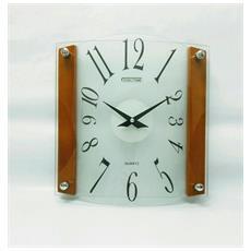Orologio Da Parete In Legno E Vetro St16236