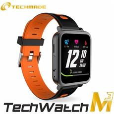 "Smartwatch M3 Mini Display 1.54"" Bluetooth Nero / Arancio– Italia"