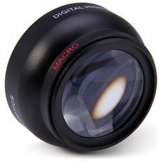 Obiettivo Macro Grandangolare Fisheye Ad Alta Definizione Da 52 Mm 0.45x Per Nikon D3200 D3100 D5200