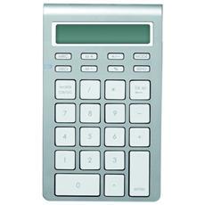 ML302188, Bluetooth, Numerico, Senza fili, Computer portatile, Argento, Batteria