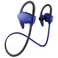 Energy Earphones Sport 1 Bluetooth Aggancio Stereofonico Bluetooth Nero, Blu auricolare per telefono cellulare