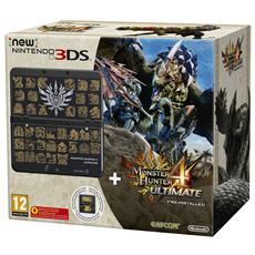 Console New 3DS + Monster Hunter 4 Ultimate Pack Limited Edition