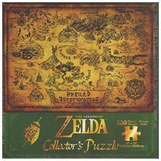 Puzzle Legend of Zelda Hyrule's Map 550 pz 46 X 61 cm PZL0082