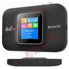 """Modem 4g Lte Tenda 4g185 Display Lcd Retroilluminato A Colori 1,44"""" Hotspot Sim Internet Usb Chiavetta Universale Wireless Batteria Ricaricabile?"""