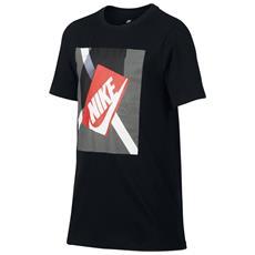 T-shirt Shoebox Jr Nero Fantasia S