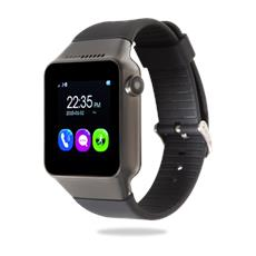 "Smartwatch Chronos Connect Single Sim Display Touchscreen 1.54"" LCD Bluetooth Fitness Fotocamera Android Nero - Italia RICONDIZIONATO"