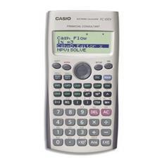 FC-100V Calcolatrice Finanziaria Display 4 Righe