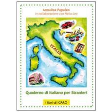 Quaderno di italiano per stranieri