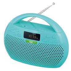 Radio Riproduttore Stereo Mp3 Bluetooth Usb Microsd Kb 308 Verde
