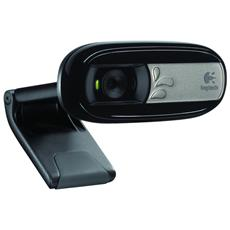 Webcam C170 da 5 Mpx Interfaccia USB 2.0 Colore Nero