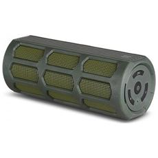 Speaker ADJ Discovery Bluetooth Potenza in uscita: 10W Con vivavoce Compatibile con iPhone / Smartphone / iPad / Tablet Water resistant Col. Verde
