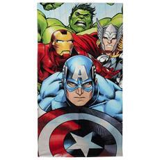 Telo Mare Asciugamano Telo Mare Piscina Telo Marvel Avengers Ufficiale Con Licenza 140cm X 70cm