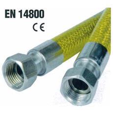 """Tubo Flessibile Omologato Per Gas Domestici Cm 200 Ff 1/2"""""""" - 02444"""