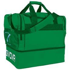 Borsa Big 10 Givova Di Colore Verde Misura 52x35x48 Cm