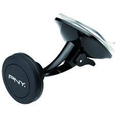 Supporto Universale Magnetico da Auto per Smartphone Nero