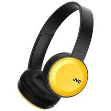 Cuffie con Microfono Bluetooth HA-S30BT-R Colore Nero e Gialle