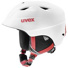 airwing 2 pro Sci, Snowboard / Sci Polistirene espanso (EPS), Policarbonato Rosso, Bianco casco protettivo
