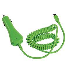 Caricabatterie da Auto MicroUSB - Verde