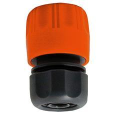 Raccordo per tubo innaffio con raccordo automatico stringitubo 5/8 2 Pz