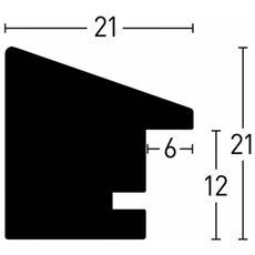 Nielsen Accent Magic 13x18 legno nero 9732004