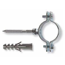 """Collare per Tubi Fischer art CPT misura 1/2"""" Ø Collare 19÷22mm Ø foro 10mm 2pz"""