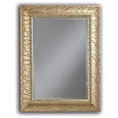 Specchio Specchiera Oro Vetro Molato