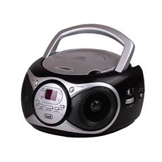 Stereo Portatile Cd Boombox Cd 512 Nero