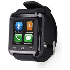 "Smartwatch U8 Display 1.5"" 32GB Bluetooth Nero - Italia"