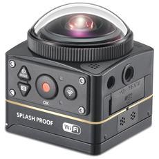 2 x SP360 4K-BK5 MOVIE CAM 4K a 360° WiFi e NFC CMOS