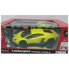 Lamborghini - Lamborghini Aventador Lp720-4 - Radiotelecomandata - Scala 1:24 - Gialla