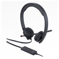 H650e Stereofonico Padiglione auricolare Nero cuffia e auricolare