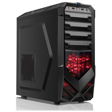 Case Gaming ZEERO Middle Tower ATX, Micro-ATX Colore Nero