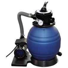 Filtro pompa a sabbia di quarzo per piscine 10.200 lt / h 400W