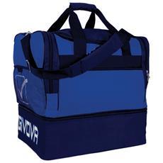 Borsa Medium 10 Givova Di Colore Azzurro / blu Misura 50x28x48 Cm