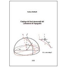 Catalogo dei beni strumentali del laboratorio di topografia
