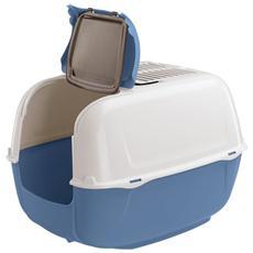 Box Toilette Per Gatti Con Tettuccio Apribile, Da Ferplast