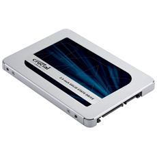 SSD 250 GB Serie MX500 2.5'' Interfaccia SATA III 6 Gb / s