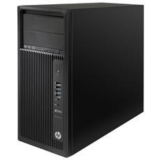 Workstation Z240 Intel Xeon E3-1225v5 Quad Core 3.3 GHz Ram 8GB Hard Disk 1TB DVD-ROM 6xUSB 3.0 Windows 10 Pro