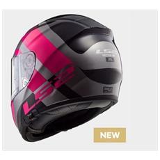 103973114s - Ff397 Vector Hpfc Trident Motorcycle Helmet S Titanium Pink
