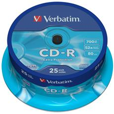 CD-R Datalife 48x 700MB 25pz Spindle Retail Extra Protection
