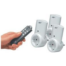 Telecontrol Radio Socket Set 1+2+1 plus-Set