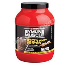 Gymline muscle 100% whey protein isolate 700g cioccolato