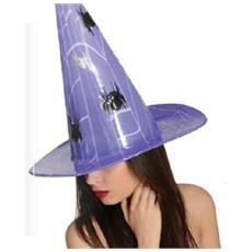 Halloween Maxi Cappello Rigido - Cono Ragnatela