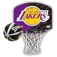 Nba Team Micro Mini Backboard Set - La Lakers Backboard Set