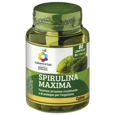 Optima Spirulina Maxima 60 Compresse Da 1000 Mg