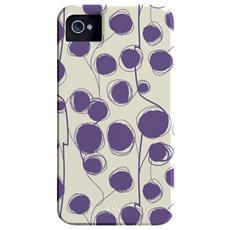 CMIMMCI4V002063 Cover Viola, Bianco custodia per cellulare